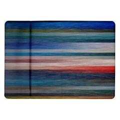 Background Horizontal Lines Samsung Galaxy Tab 10 1  P7500 Flip Case by BangZart