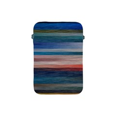 Background Horizontal Lines Apple Ipad Mini Protective Soft Cases by BangZart