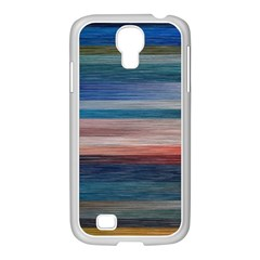 Background Horizontal Lines Samsung Galaxy S4 I9500/ I9505 Case (white) by BangZart