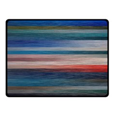 Background Horizontal Lines Double Sided Fleece Blanket (small)