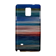 Background Horizontal Lines Samsung Galaxy Note 4 Hardshell Case by BangZart