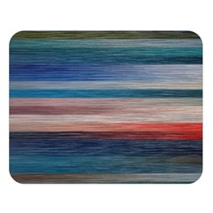 Background Horizontal Lines Double Sided Flano Blanket (large)  by BangZart