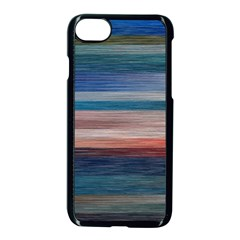 Background Horizontal Lines Apple Iphone 7 Seamless Case (black) by BangZart