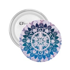Mandalas Symmetry Meditation Round 2 25  Buttons by BangZart