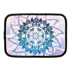 Mandalas Symmetry Meditation Round Netbook Case (medium)