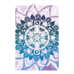 Mandalas Symmetry Meditation Round Shower Curtain 48  X 72  (small)  by BangZart