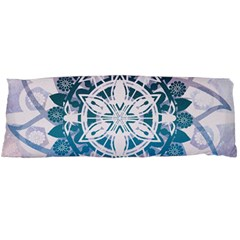 Mandalas Symmetry Meditation Round Body Pillow Case Dakimakura (two Sides)