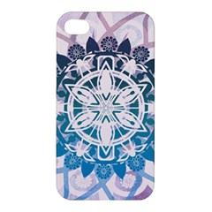 Mandalas Symmetry Meditation Round Apple Iphone 4/4s Premium Hardshell Case