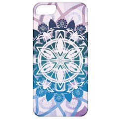 Mandalas Symmetry Meditation Round Apple Iphone 5 Classic Hardshell Case
