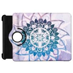 Mandalas Symmetry Meditation Round Kindle Fire Hd 7  by BangZart
