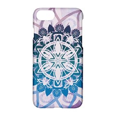 Mandalas Symmetry Meditation Round Apple Iphone 7 Hardshell Case