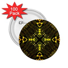 Abstract Glow Kaleidoscopic Light 2 25  Buttons (100 Pack)