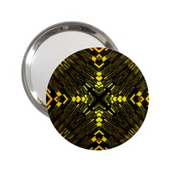 Abstract Glow Kaleidoscopic Light 2 25  Handbag Mirrors