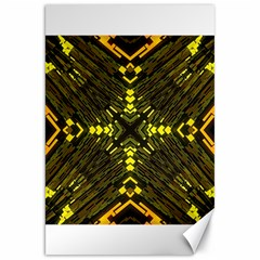 Abstract Glow Kaleidoscopic Light Canvas 20  X 30   by BangZart