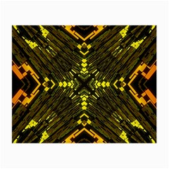 Abstract Glow Kaleidoscopic Light Small Glasses Cloth (2 Side) by BangZart