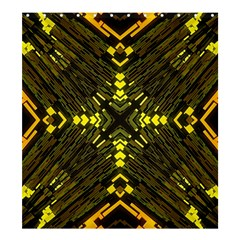 Abstract Glow Kaleidoscopic Light Shower Curtain 66  X 72  (large)