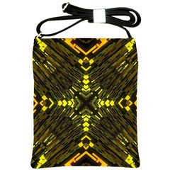 Abstract Glow Kaleidoscopic Light Shoulder Sling Bags by BangZart