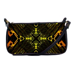 Abstract Glow Kaleidoscopic Light Shoulder Clutch Bags by BangZart