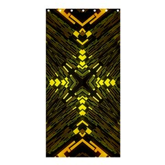 Abstract Glow Kaleidoscopic Light Shower Curtain 36  X 72  (stall)