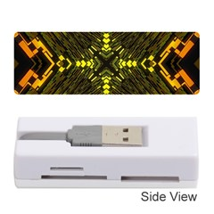 Abstract Glow Kaleidoscopic Light Memory Card Reader (stick)