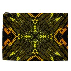 Abstract Glow Kaleidoscopic Light Cosmetic Bag (xxl)  by BangZart