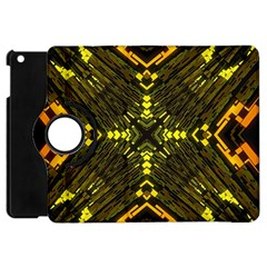 Abstract Glow Kaleidoscopic Light Apple Ipad Mini Flip 360 Case by BangZart