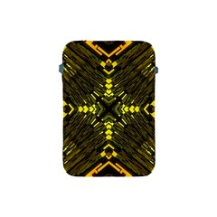 Abstract Glow Kaleidoscopic Light Apple Ipad Mini Protective Soft Cases by BangZart