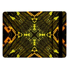 Abstract Glow Kaleidoscopic Light Samsung Galaxy Tab Pro 12 2  Flip Case by BangZart
