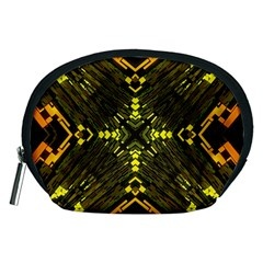 Abstract Glow Kaleidoscopic Light Accessory Pouches (medium)