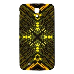 Abstract Glow Kaleidoscopic Light Samsung Galaxy Mega I9200 Hardshell Back Case by BangZart