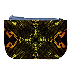 Abstract Glow Kaleidoscopic Light Large Coin Purse by BangZart