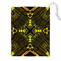 Abstract Glow Kaleidoscopic Light Drawstring Pouches (xxl)