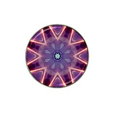 Abstract Glow Kaleidoscopic Light Hat Clip Ball Marker (4 Pack) by BangZart