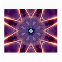 Abstract Glow Kaleidoscopic Light Small Glasses Cloth
