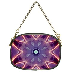 Abstract Glow Kaleidoscopic Light Chain Purses (one Side)  by BangZart