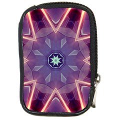 Abstract Glow Kaleidoscopic Light Compact Camera Cases