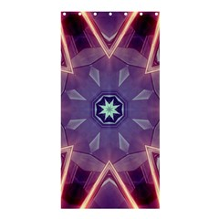 Abstract Glow Kaleidoscopic Light Shower Curtain 36  X 72  (stall)  by BangZart