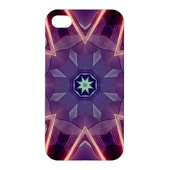 Abstract Glow Kaleidoscopic Light Apple Iphone 4/4s Premium Hardshell Case