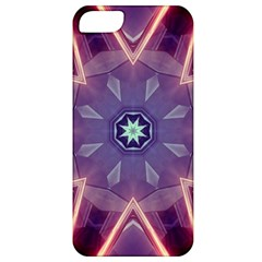 Abstract Glow Kaleidoscopic Light Apple Iphone 5 Classic Hardshell Case by BangZart