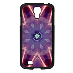 Abstract Glow Kaleidoscopic Light Samsung Galaxy S4 I9500/ I9505 Case (black) by BangZart