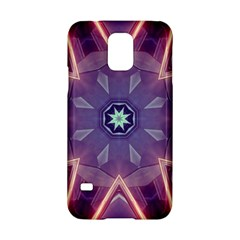 Abstract Glow Kaleidoscopic Light Samsung Galaxy S5 Hardshell Case