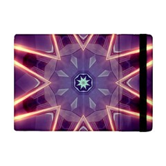 Abstract Glow Kaleidoscopic Light Ipad Mini 2 Flip Cases by BangZart