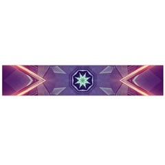Abstract Glow Kaleidoscopic Light Flano Scarf (large)