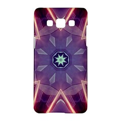 Abstract Glow Kaleidoscopic Light Samsung Galaxy A5 Hardshell Case
