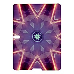 Abstract Glow Kaleidoscopic Light Samsung Galaxy Tab S (10 5 ) Hardshell Case  by BangZart
