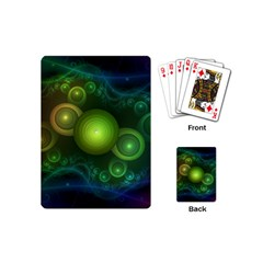 Retrotacular Rainbow Dots In A Fractal Microscope Playing Cards (mini)  by beautifulfractals