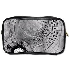 Fragmented Fractal Memories And Gunpowder Glass Toiletries Bags by jayaprime
