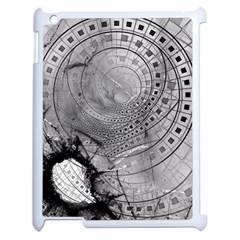 Fragmented Fractal Memories And Gunpowder Glass Apple Ipad 2 Case (white) by jayaprime