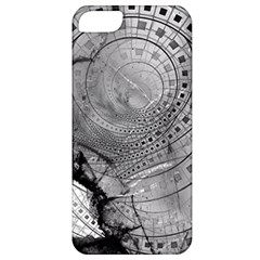 Fragmented Fractal Memories And Gunpowder Glass Apple Iphone 5 Classic Hardshell Case by beautifulfractals