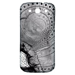 Fragmented Fractal Memories And Gunpowder Glass Samsung Galaxy S3 S Iii Classic Hardshell Back Case by jayaprime